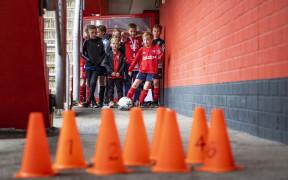 Kidsclub Voetballen Veste v2